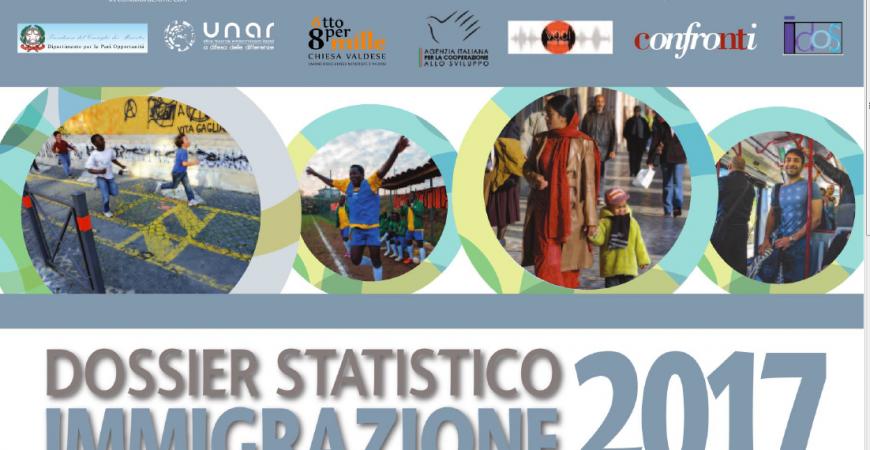 Venerdì a Perugia verrà presentato il Dossier Statistico Immigrazione 2017