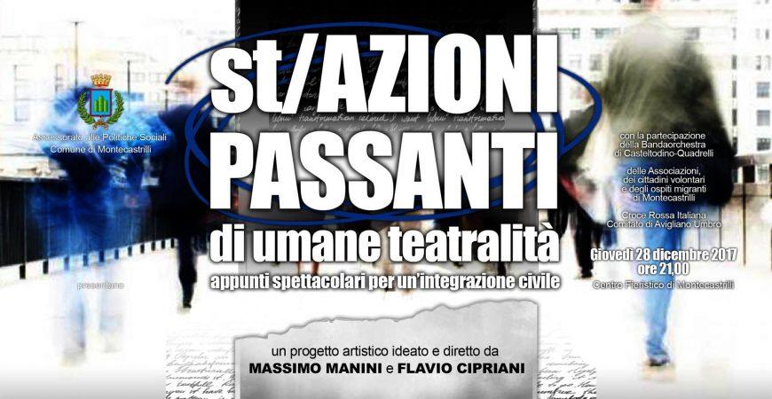 st/AZIONI PASSANTI, spettacolo-evento sul tema dell'integrazione