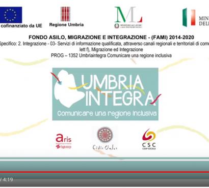 Video-Intervista a Fabrizio Ponti, Responsabile della sezione Interventi formativi della Regione Umbria