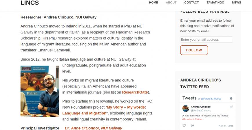"""""""LINCS"""", il progetto che studia come apprendono i migranti"""