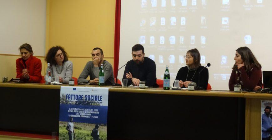 Agricoltura sociale per l'integrazione: le buone pratiche da tutta Italia raccontate a Montemorcino