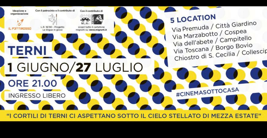 Call for volunteers: cinema dal mondo