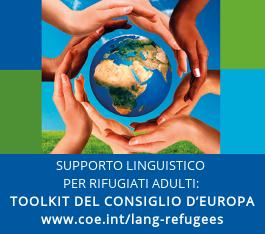 Il Toolkit del Consiglio d'Europa per il supporto linguistico rivolto a richiedenti asilo e rifugiati