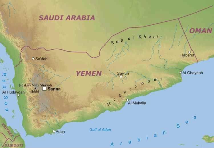 Cartina Yemen.Yaser Dallo Yemen A Perugia Umbria Integra