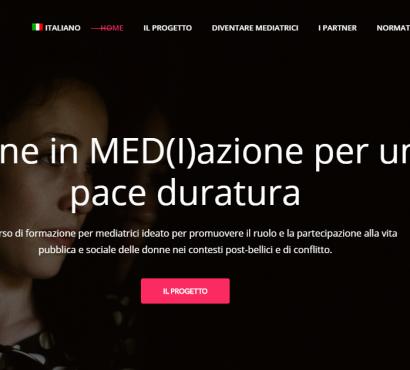Donne in MediAzione – per una pace duratura