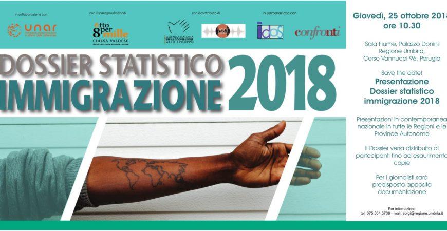 Presentazione del Dossier Statistico Immigrazione 2018