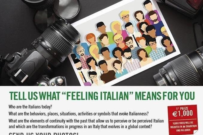"""Concorso fotografico """"Cosa significa sentirsi italiani"""""""