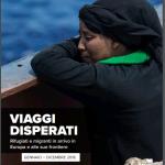 Viaggi disperati: nel 2018, in media sei persone al giorno hanno perso la vita in mare
