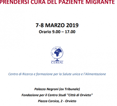 Prendersi cura del paziente migrante: corso a Orvieto