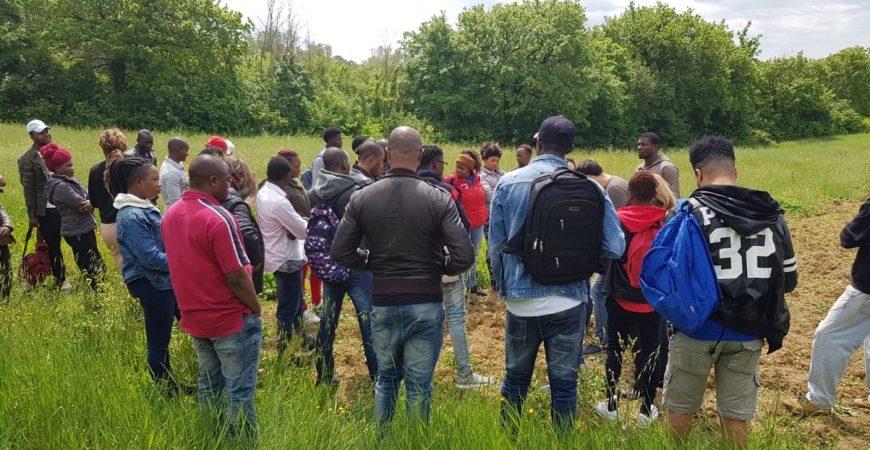 """Con """"ColtiviAmo l'Integrazione"""" rinascono gli orti in città a Montemorcino"""