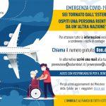 Di ritorno dall'estero? Ecco cosa fare per salvaguardare te e gli altri – *Infografica multilingue*