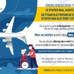 Volantino Covid_Rientro estero_ALBANESE