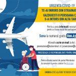 Volantino Covid_Rientro estero_RUMENO