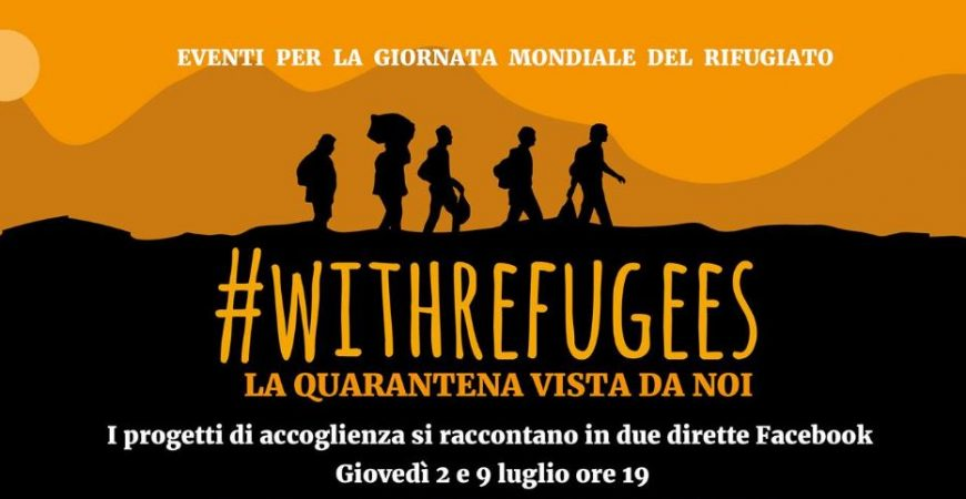 #WithRefugees, due dirette facebook per parlare di accoglienza e Covid19 nel ternano