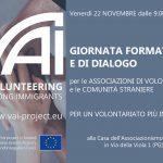 Progetto VAI, una giornata formativa per le associazioni di volontariato