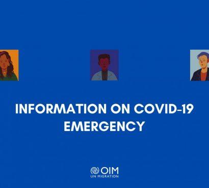 La brochure dell'IOM sul Coronavirus