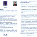 Leaflet Covid-19 OIM - Francese