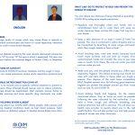 Leaflet Covid-19 OIM - Inglese