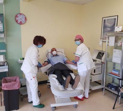 Emergenza coronavirus e donazioni di sangue, a Foligno l'iniziativa solidale di Avis, Al Islamiya e Cidis Onlus