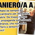 Straniero a chi?. Parliamo della riforma mancata della cittadinanza con Il Pettirosso-Terni e Italian* Senza Cittadinanza