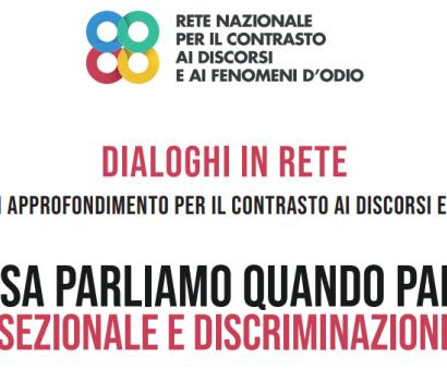 Odio intersezionale e discriminazioni multiple: un webinar per saperne di più