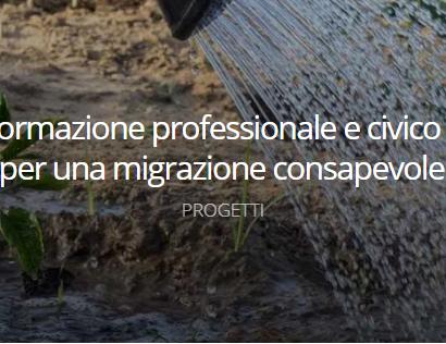 'Before You Go', un nuovo progetto in favore di una migrazione consapevole