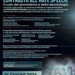 Un panel online sull'hate speech | 25 giugno 2021, ore 11